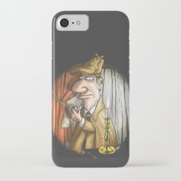 sherlock holmes iPhone & iPod Cases featuring Sherlock Holmes! by Berni Store
