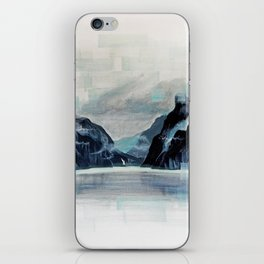 Rectangles - Perspective of Milford Sound iPhone Skin
