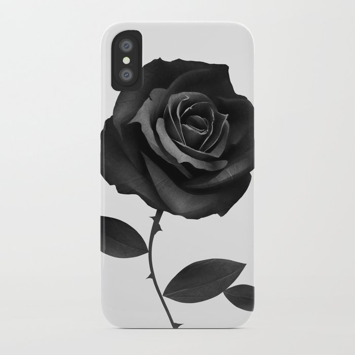 Fabric Rose iPhone Case