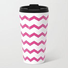 Beautiful girly chevron Travel Mug