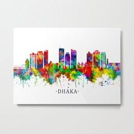 Dhaka Bangladesh Skyline Metal Print