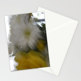 blur flowers Stationery Cards
