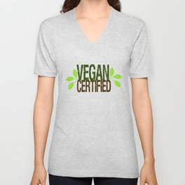 Vegan Certified Unisex V-Neck