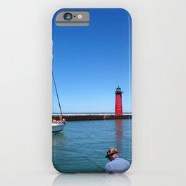 Kenosha Harbor iPhone Case