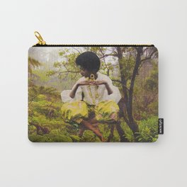 Levitate Afro Woman Collage Carry-All Pouch
