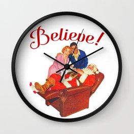 Believe! Wall Clock