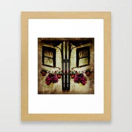 The House That Time Forgot Framed Art Print