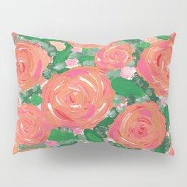 Blushing Roses Pillow Sham