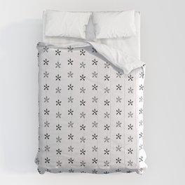 Turtle Flowers Comforters