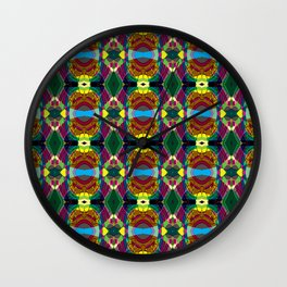 Kaleidascope  Wall Clock