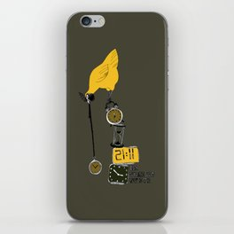 No time to waste iPhone Skin