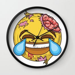 If the most famous emoji was a zombie Wall Clock