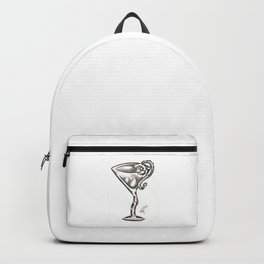 Cocktail Glass 001 Backpack