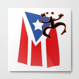 Mi bandera, Puerto Rico Metal Print