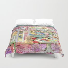 The Little Cake Shop Duvet Cover