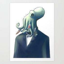 Octoguy Art Print