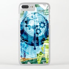 "Fallout ""The Brotherhood of Steel"" Clear iPhone Case"