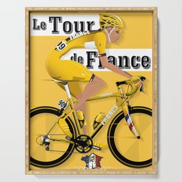 Tour De France cycling grand tour Serving Tray
