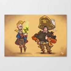 #85 - Tales of Monkey Island Canvas Print