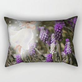 Hyacinth Fairy Rectangular Pillow