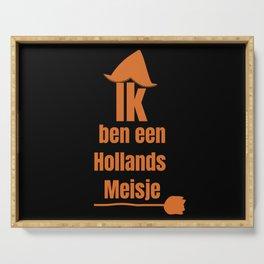 Ik ben een Hollands Meisje - I Am A Dutch Girl Serving Tray