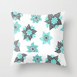 Sharpie Doodle 7 Throw Pillow