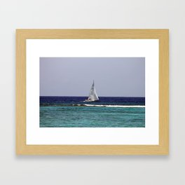 Sail Boat Framed Art Print