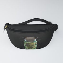 Astronaut In A Jar | Galaxy Universe Fanny Pack