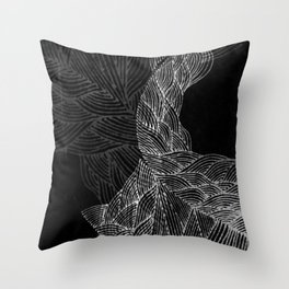 Dark Sea Throw Pillow