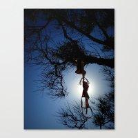 bikini Canvas Prints featuring bikini by habish