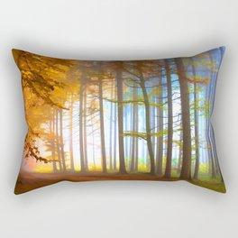Ethereal Forest  Rectangular Pillow
