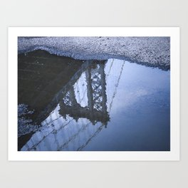 Reflexion Art Print
