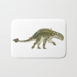 Euoplocephalus dinosaur Bath Mat