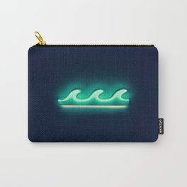 Waves (Neon) Carry-All Pouch
