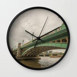 River Thames Bridge, London Wall Clock
