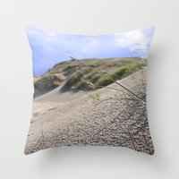 dune Throw Pillows featuring Dune by  Agostino Lo Coco