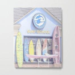"""Surf Shop"" by Murray Bolesta Metal Print"
