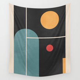Geometric Shapes 105 Wall Tapestry