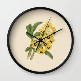 Dendrobium Suavissimum Wall Clock