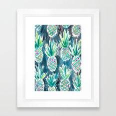 Wild Pineapples Framed Art Print