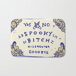 Spooky Bitch Ouija - Color Bath Mat
