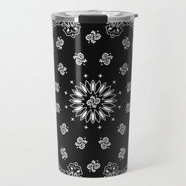 Bandana Black - Traditional Travel Mug