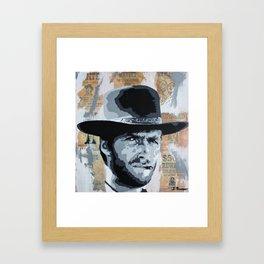 Wanted Framed Art Print