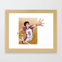 HAIKYUU!! - SOAR Framed Art Print
