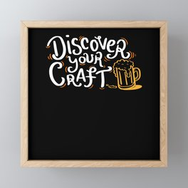 Discover Your Craft - Gift Framed Mini Art Print
