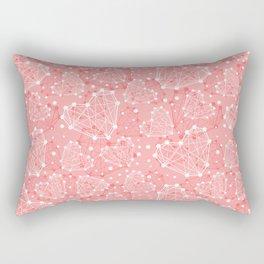 Technologic Heart Valentine's Day Pattern Rectangular Pillow