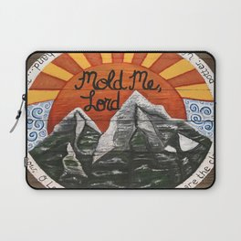 Mold Me Lord Laptop Sleeve