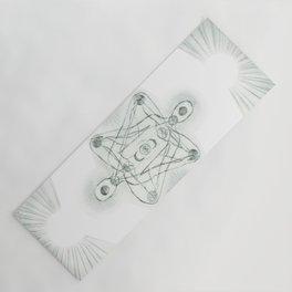 Samadhi white Yoga Mat