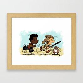 Race For Your Life!! Framed Art Print