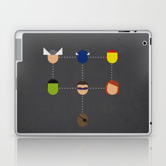 The advengers Capsules Laptop & iPad Skin